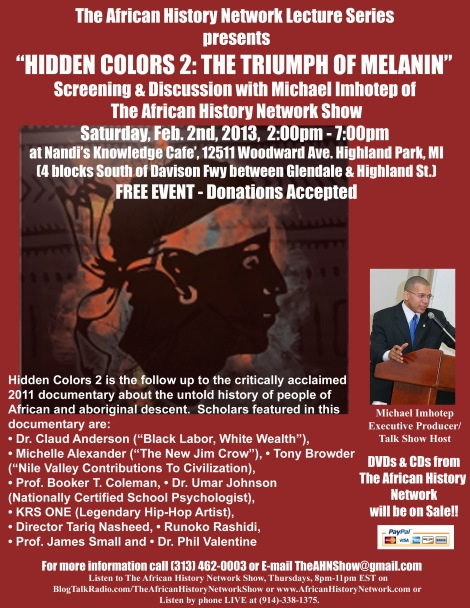 Hidden Colors 2 Screening - 2-2-13